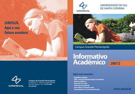 Informativo Acadêmico 2007/2 - Unisul