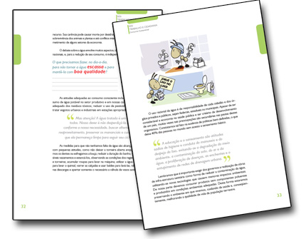 Diagramação de Livro Didático SESI