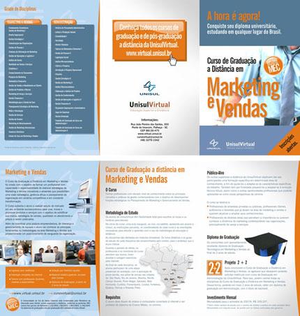 Curso de Graduação em Marketing e Vendas