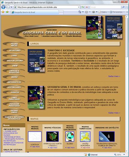 Site GEOGRAFIAPARATODOS