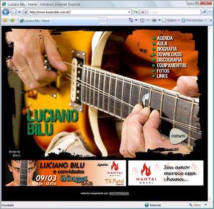 Site Luciano Bilu